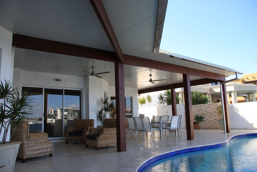 insulated roof - insulated roofing panels - National Patios